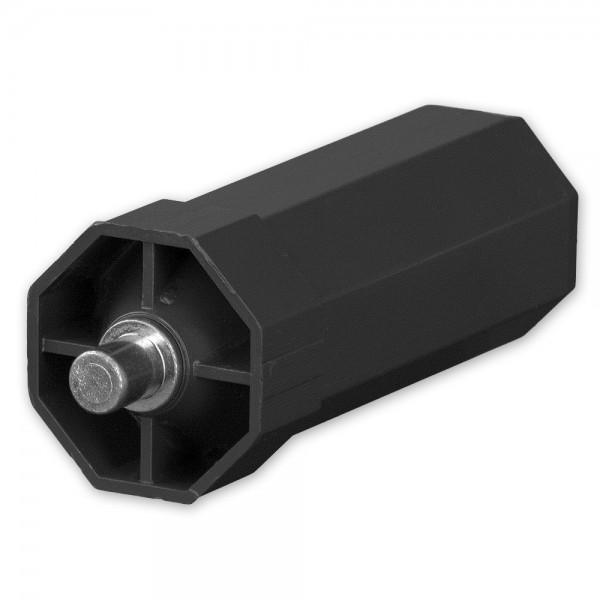 Mini-Walzenkapsel lang für SW 40 Achtkantwelle, Achsstift 10 mm außen