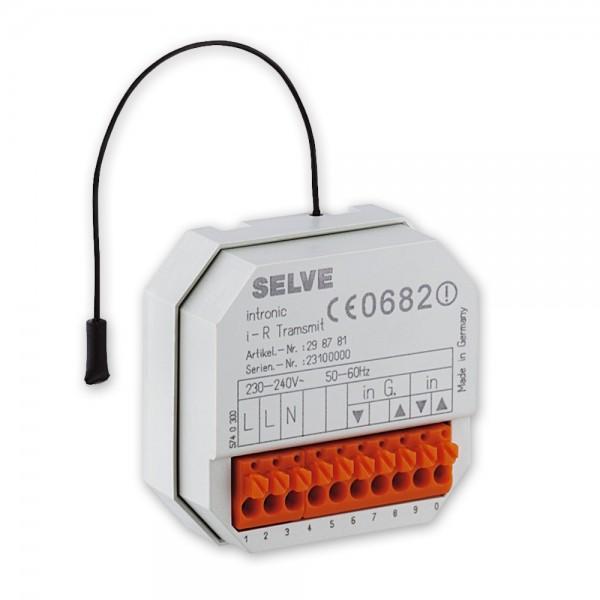 Funk-Sender Unterputz i-R Transmit, für die Nachrüstung leitungsgebundener Steuerungen