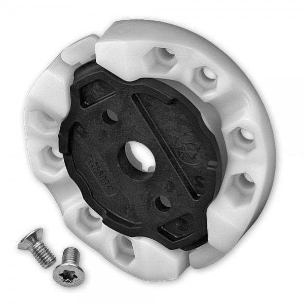 Vorbaukasten-Motorlager für SELVE-Motore, inkl. Flansch und Schrauben, bis 20 Nm