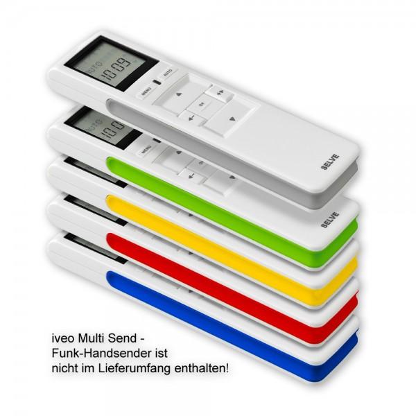Spangen-Set für iveo Handsender 5 Farben